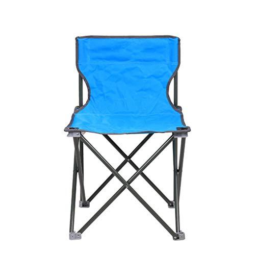 ShJttt-chair or stool Chaise de Pliage Portable pêche Plage Directeur de la Chaise Retour Chaise Pique-Nique décontracté Barbecue (46 * 46 * 72cm)