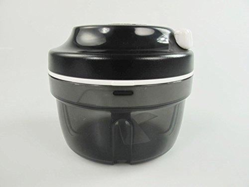 TW1000 TW Tupperware Chef Turbo-Chef D158 Speedy Boy - Cortador de Cebolla, Color Negro