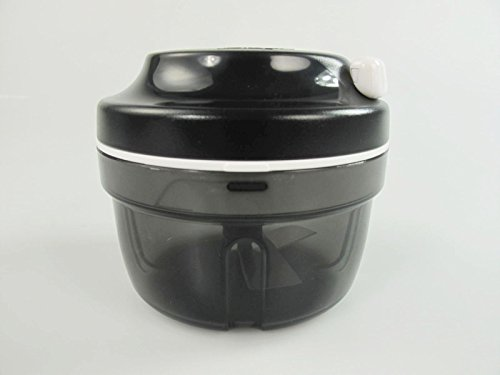 Tupperware Turbo-Chef Chef schwarz D158 Zwiebelschneider Zwiebeln Speedy Boy 33393