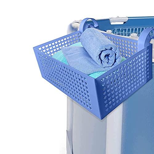 HUONIUPIC Cesta Colgante de plástico extraíble Duradera para Piscina, Cesta de Almacenamiento Colgante para Piscina para Organizador, Estante de Almacenamiento para Piscina Que Puede almacenar Tipo