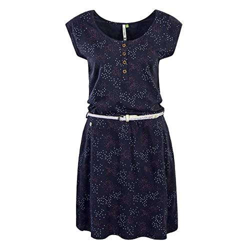 Ragwear Zephie Organic Navy Kleid XS