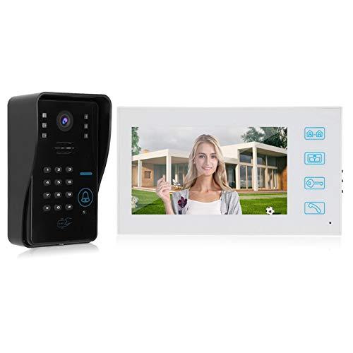 Videoportero 100-240V, para Chalet, para Casas(European regulations)