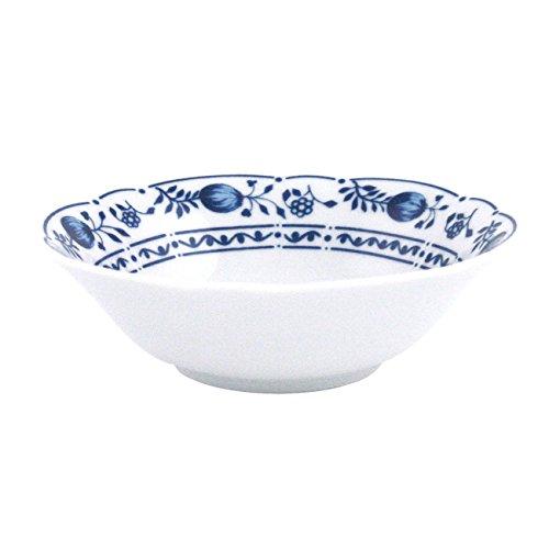 Triptis 1350380670513116 Romantika Zwiebelmuster Schale, Ø 13 cm, Porzellan, weiß/blau (2 Stück)