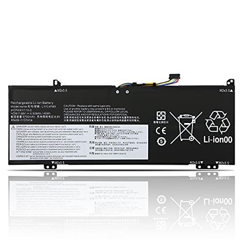 K KYUER 45WH L17C4PB0 Laptop Battery for Lenovo Air 14 FLEX 6-14ARR-81HA FLEX 6-14IKB IdeaPad 530S-14IKB 530S-14ARR 530S-15IKB Yoga 530-14ARR 530-14IKB L17C4PB0 L17M4PB0 L17C4PB2 L17M4PB2