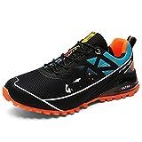 Mishansha Calzado de Trekking Hombre Antideslizantes Zapatos de Montaña Ligero Zapatillas de Senderismo Azul049 46 EU