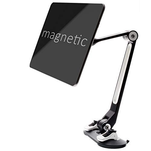 Sinland universelle Handy-, Tablet-Halterung / Desktop-Ständer, Multi-Winkel 360° Tablet-Halter (magnetisch mit Saugnapf)