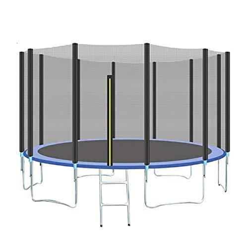 CNRGHS Outdoor Trampoline, Thuis Kinderen binnen en buiten Commerciële Trampoline, Interactieve Game Fitness Trampoline met Veiligheidsnet, Grote Bungee Bed 10FT