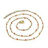 BOBIJOO Jewelry - Collier Minimaliste Chaîne Fine 48cm Femm