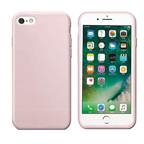 Funda para Apple iPhone 6/6S de silicona TPU – en rosa – Funda de silicona flexible TPU