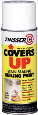 Zinsser Covers Up Ceiling Paint & Primer In One Spray