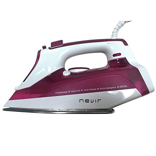 Nevir - Nvr-3581 pa - plancha a vapor, 2600 w