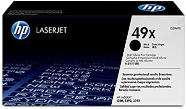 HP Laser Tnr 49A HI Yld LJ 1320 Series Black Smart Print 15.35 x 4.80 x 7.72