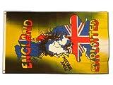 Fahne / Flagge Punk Invasion Großbritannien + gratis Sticker, Flaggenfritze®