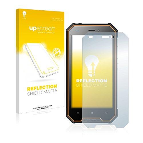 upscreen Entspiegelungs-Schutzfolie kompatibel mit Blackview BV4000 Pro – Anti-Reflex Bildschirmschutz-Folie Matt