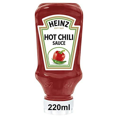 Heinz Hot Chilli Top Down, Pacco da 8 x 245 g