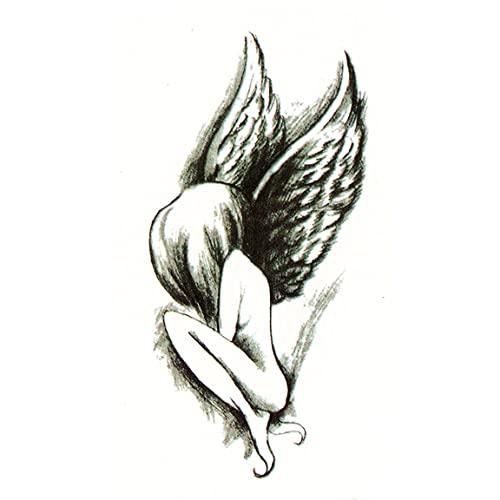 YYSD Tatouage temporaire pour Homme Femmes Adulte, Body/Bras Tattoo Sticker Résistant Eau et Sueur, Non Toxique