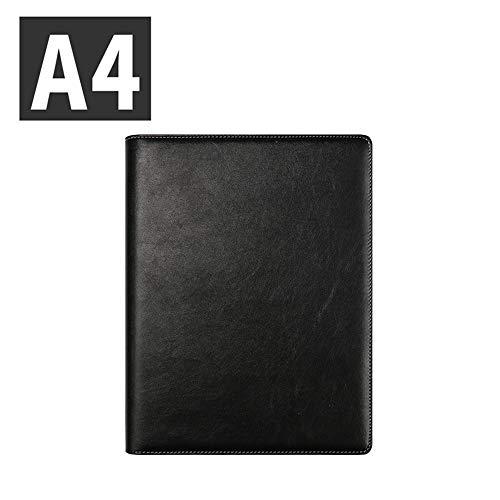 POWER BANKS PU pour Bureau Porte Document Agenda d'affaire Chemise de Dossier en PU Chemise Document pour Directeur A4 Notepad in Gift Box by,D