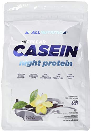 All Nutrition Micellar Casein Night Protein Powder, Vanilla