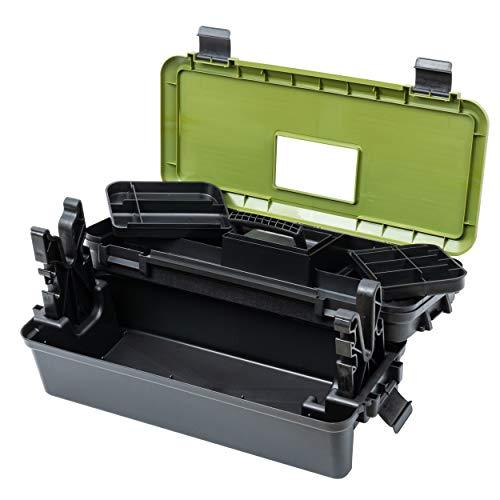 Nomis Wartungsbox/Reinigungsbox/Werkzeugkoffer für Gewehre/mit Halterung und reichlich Stauraum für Werkzeug und Munition
