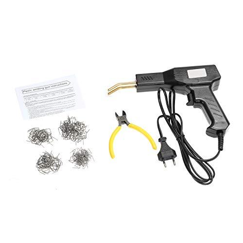 KKmoon Soldadura de Plástico con Grapadora Caliente 50 W, Kit de Reparación de Parachoques de Coche