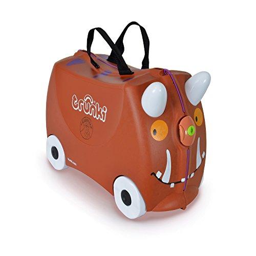 Trunki  Maleta correpasillos y equipaje de mano infantil: Gruffalo (Marrón)