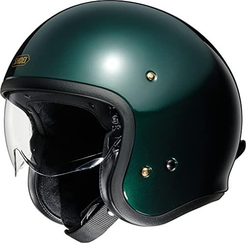 Shoei J.O british green Open Face Helm Jethelm Motorradhelm, S