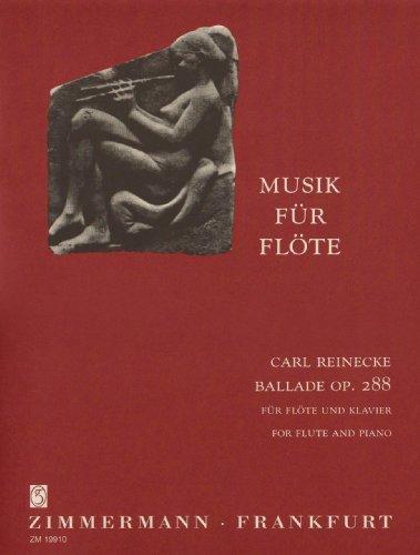 Ballade op. 288: Für Flöte und Klavier