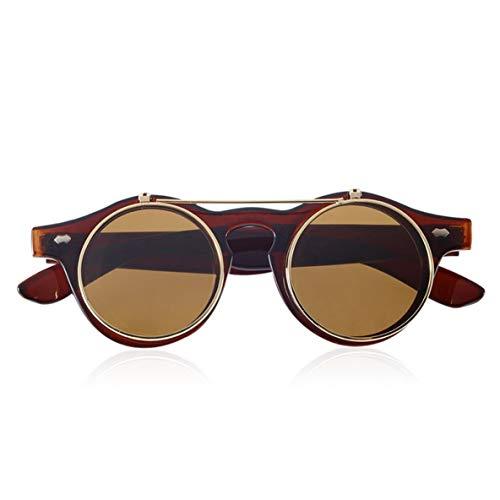 ACEHE Gafas de Sol, Gafas clásicas Steampunk Goth Gafas Gafas de Sol...