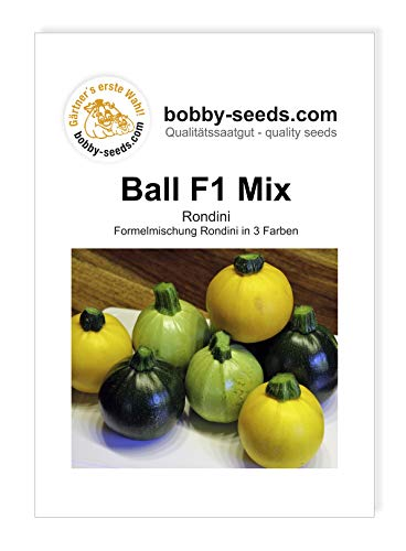 Bobby-Seeds Zucchinisamen Ball Mix F1 Rondinimischung Portion