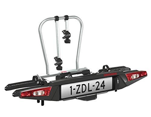 Yakima FOLDCLICK 2 Support de Fixation arrière Noir Métallique 14,5 kg 740 x 670 x 280 mm