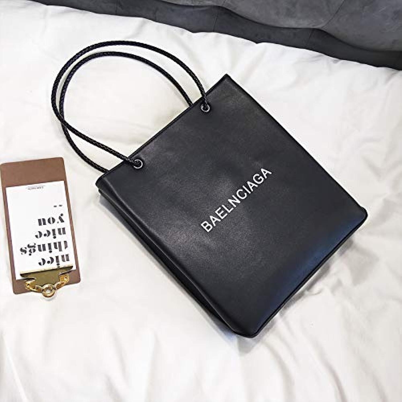 WANGZHAO Shoulder Bag, Handbag, Handbag, Simple Fashion, Letter Trend.