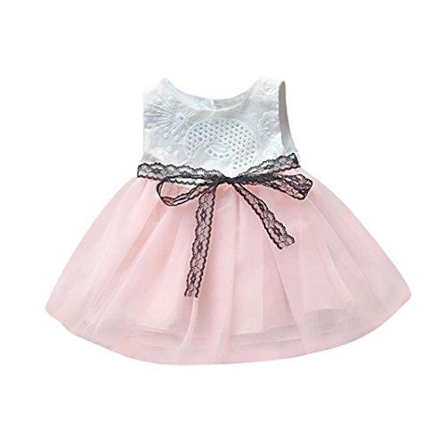 Floral Imprimir Vestido Ni/ña Vestido de Fiesta Sin Manga Princesa Falda Ropa de Bebe ni/ña Verano 2018 Vestir K-youth Vestido para Beb/és