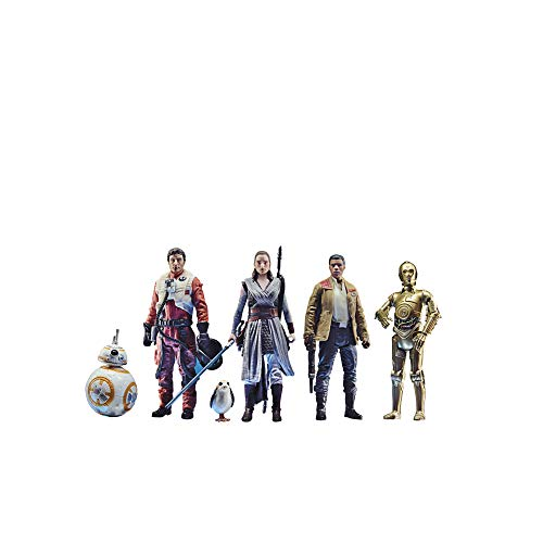 Star Wars Celebrate The Saga Toys The Resistance Figure Set, 3.75-Inch-Scale Collectible Action Figure 6-Pack (Amazon Exclusive)