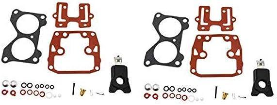 396701 Carb Repair Kits For Johnson Evinrude Carburetor 18 20 25 28 30 35 40 45 48 50 55 60 65 70 75 HP Outboard Motors with Floats CARBEX