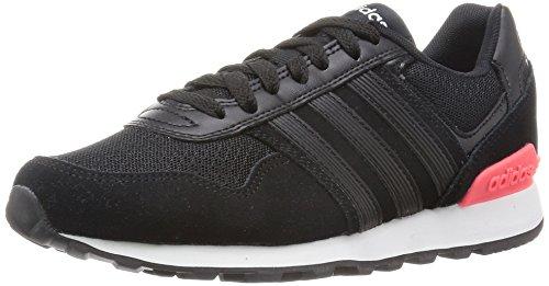 adidas NEO Damen 10K F99315 Sneaker, Schwarz (Core Black/Core Black/FTWR White), 40 2/3 EU