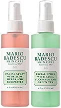 Mario Badescu Facial Spray Duo, 4 Fl Oz, 2 Count