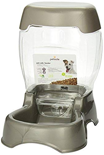 Petmate Pet Cafe Feeder Dog and Cat Feeder Pearlescent Colors 3 Sizes