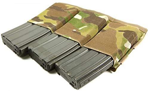 Blue Force Gear Ten-Speed Triple Magazine Pouch In Multicam (BLFHW-TSP-M4-3-MC)