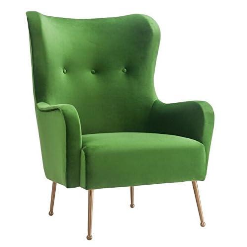 Green Velvet Chair: Amazon.com