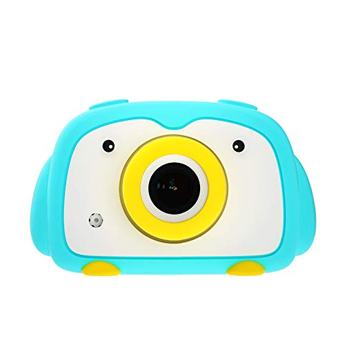 Best Buy! DLMPT Kids Camera Digital Cameras 20MP Dual Lens WiFi Transmission Digital Camera for Children with 2.0 Inch Screen Take Photos Regularly for Girls Birthday Toy Gifts,Blue,WIFIversion