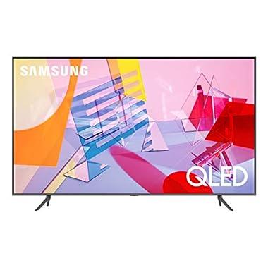 Samsung 65-inch Class QLED Q60T Series - 4K UHD Dual LED Quantum HDR Smart TV with Alexa Built-in (QN65Q60TAFXZA, 2020 Model)