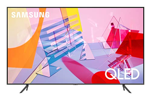 SAMSUNG Q60T Series 65-inch Class QLED Smart TV | 4K, UHD Dual LED Quantum HDR | Alexa Built-in | QN65Q60TAFXZA, 2020 Model