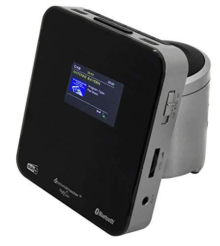Soundmaster UR260SI DAB UKW Uhrenradio Wecker Dualalarm Bluetooth USB