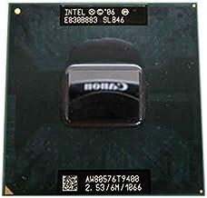 Intel Core 2 Duo T9400 - Procesador de CPU portátil (2,3 GHz, 6 MB, 478-pines, SLB46 SLGE5)