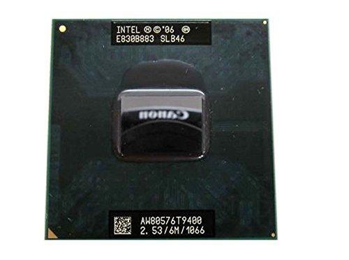 Intel Core 2 Duo T9400 - Procesador de CPU móvil (2,53 GHz, 6 MB, 478 pines, SLB46 SLGE5)