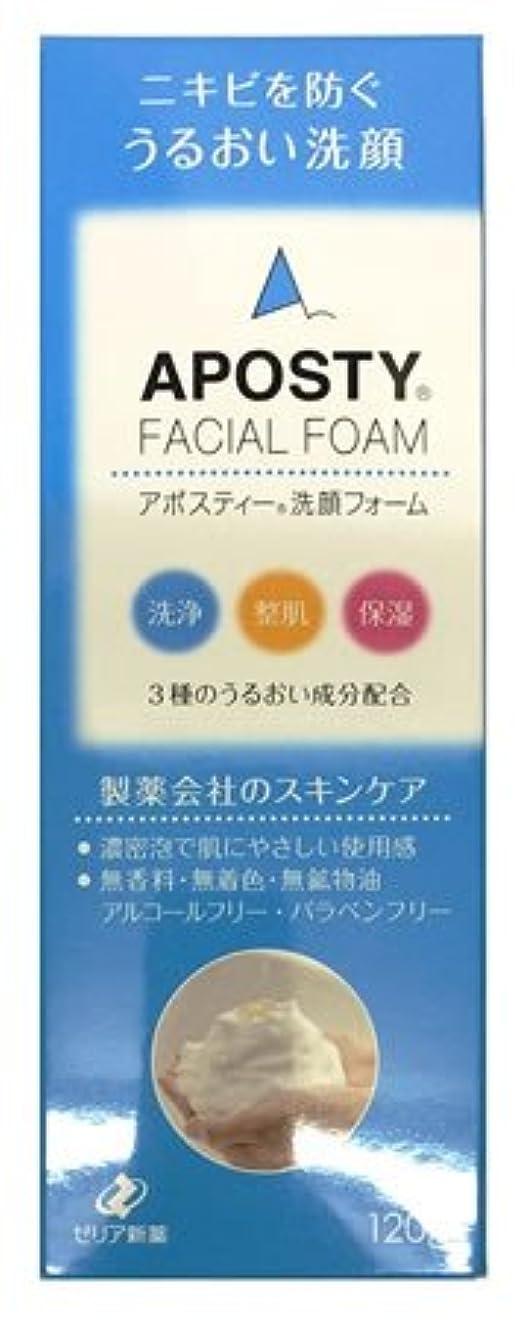 要求するブル気難しいゼリア新薬 [セット] アポスティー 洗顔フォーム (120g)×2個セット