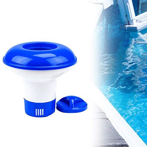 Apofly Pool Dosierschwimmer Extra groß Automatisch Chlorspender Chlor Dosierer Schwimmender Chemischen Spender für Innen Außen Schwimmbäder Whirlpool 5 Zoll