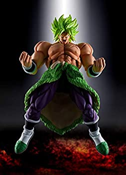 TAMASHII NATIONS Bandai S.H Figuarts Super Saiyan Broly Full Power Dragon Ball Super  Broly Action Figure