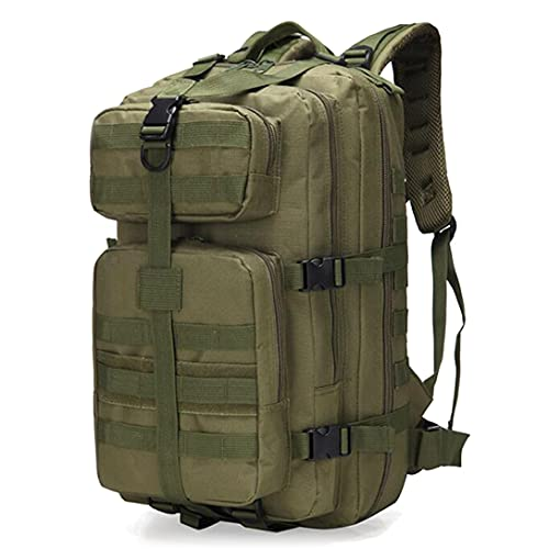 MISAW Zaino Militare Pacchetto di Assalto dell'Esercito di Grande Capacità 40L Zaino Da Viaggio Zaino Insetto Borsa Molle Zaino per Trekking Escursionismo in Campeggio Viaggiare per Donna Uomo