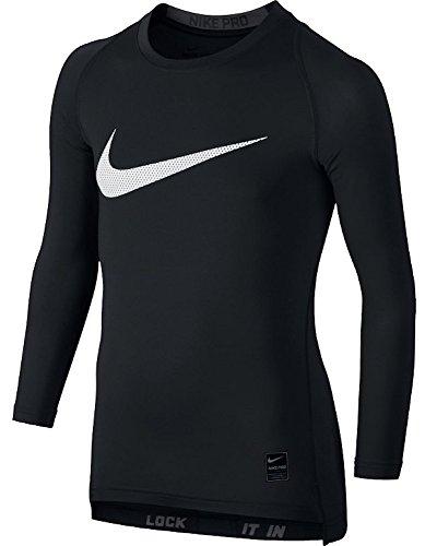 Nike Kinder Pro Compression Unterhemden, Black/Anthracite/White, S